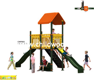 Children play ground material