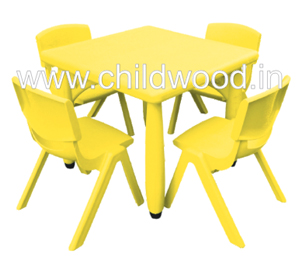 Playschool square table
